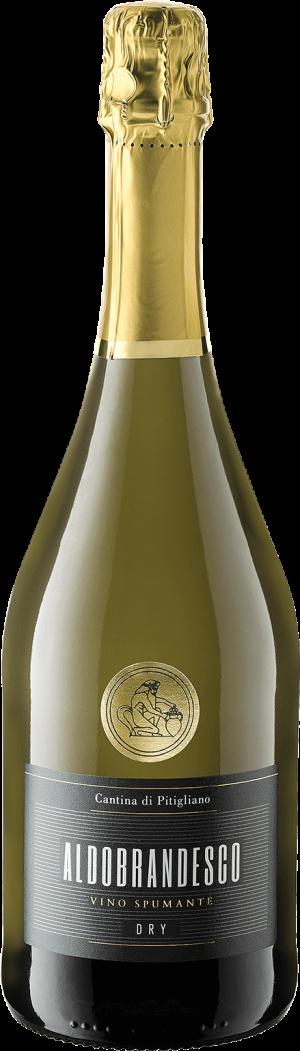 Aldobrandesco DRY Vino Spumante in Bottiglia