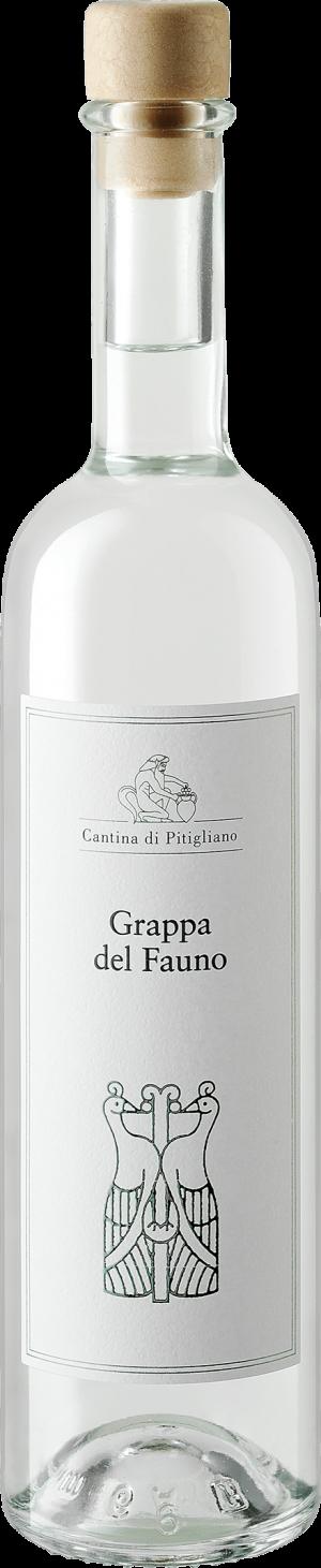 Grappa del Fauno da uve Chardonnay