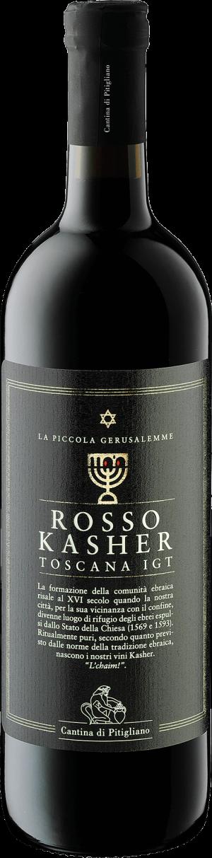 Rosso Kasher Toscana IGT Vino in Bottiglia