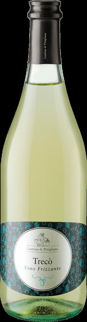 Trecò Vino Frizzante Bianco in Bottiglia